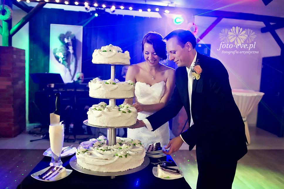fotograf raciborz foto-eve ewelina knura rybnik slub malzenstwo mloda para tort weselny